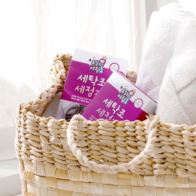 욕실의여왕 세탁조 클리너(50g) 2개입 1box