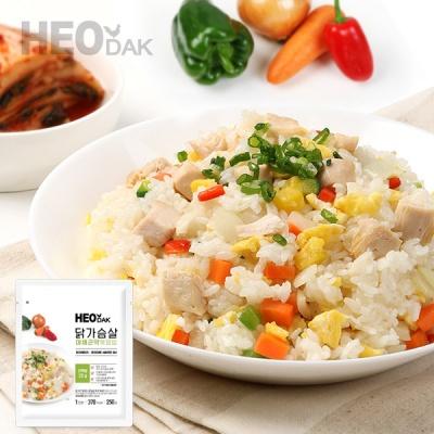 [허닭] 닭가슴살 야채곤약볶음밥 250g