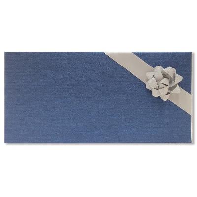 홀마크 리본 선물포장상자(소)-블루