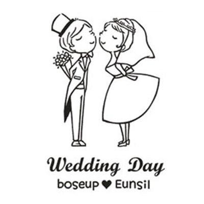 [웨딩주문제작]Wedding Kiss