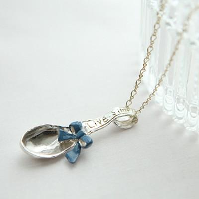 [러쉬룸] [일본직수입/팔나트폭] blue ribbon spoon