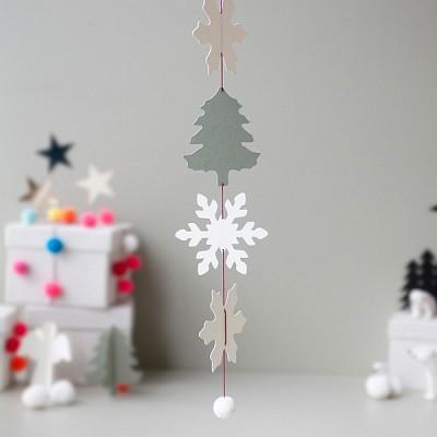 크리스마스 눈꽃송이(7ea)