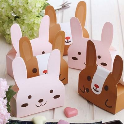 가방박스 토끼-브라운토끼&핑크토끼 랜덤(내피별도)