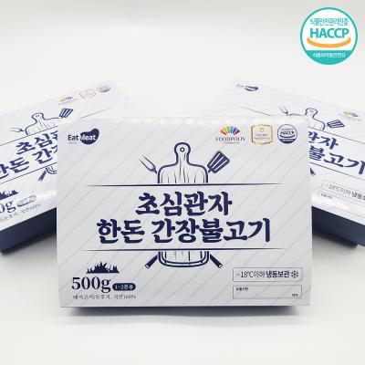 초심푸드 관자한돈간장불고기 500g x 3팩