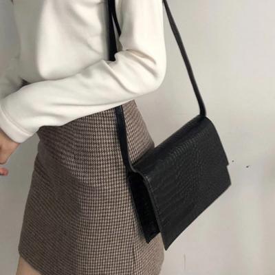 여성 숄더백 호보백 가방 데일리 스퀘어 레더