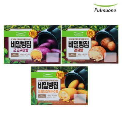 [풀무원]비밀빵집 3종 3개세트 모음