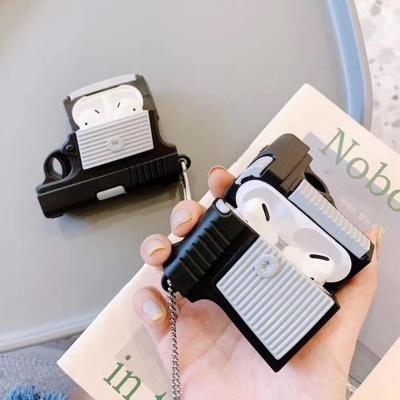 에어팟 1 2 3세대 프로 권총 미니어처 실리콘 케이스