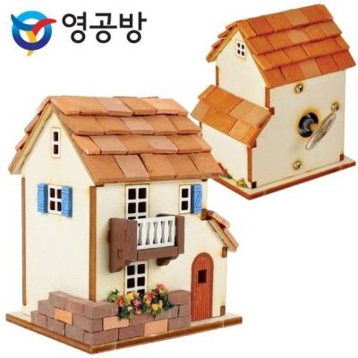 영공방 DIY 태엽오르골 프로방스 집 만들기 (YM947)