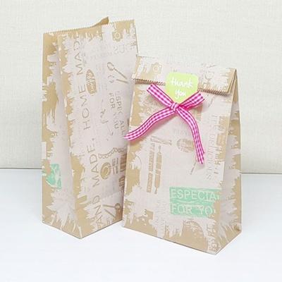 빈티지 느낌 졸업식 스승의날 답례품 포장 봉투