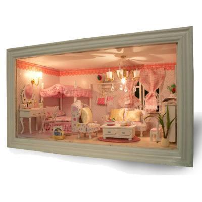 [adico]DIY미니어처 하우스 - 핑크 신혼방