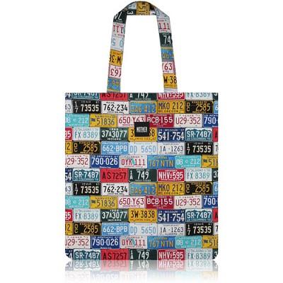 nother License Plates Flat Tote Bag (Various) / 나더 라이센스 플레이트 플랫 토트백