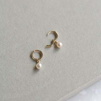 14K gold lucca pearl earring (세트)