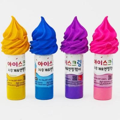 1000 아이스크림 지우개&연필깎이 2071