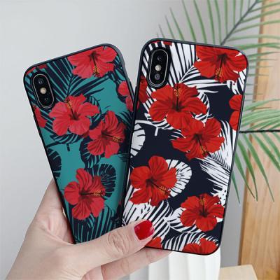 아이폰7플러스 flowerwall 카드케이스