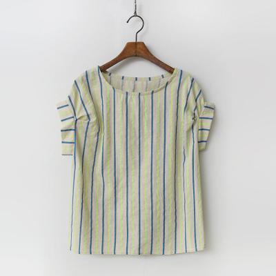Linen Cotton Neon Blouse