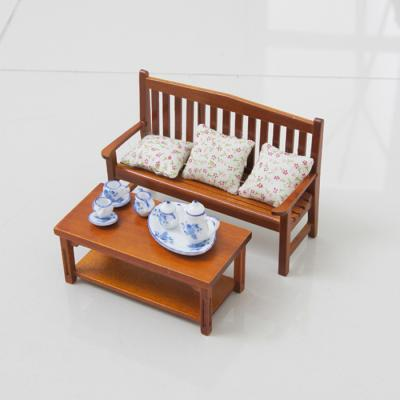 우드 테이블 미니어처