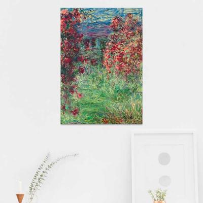 주문제작 액자 Monet La maison dans les roses