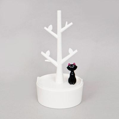 나뭇가지 악세서리 수납 고양이