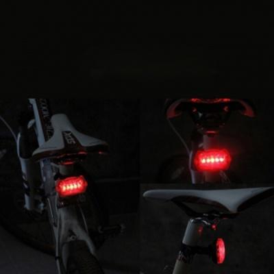 PH 자전거용 LED 후미등(5패턴) 건전지포함