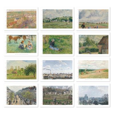 [2021 명화 캘린더] Camille Pissarro 피사로 Type A