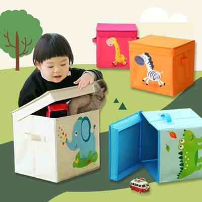 1+1 동물캐릭터 10종 장난감 정리함/수납함/보관함