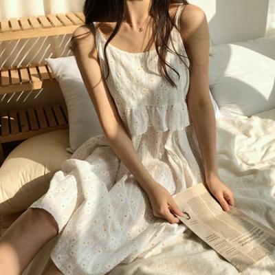 데이지 나시 여름 잠옷 원피스 파자마