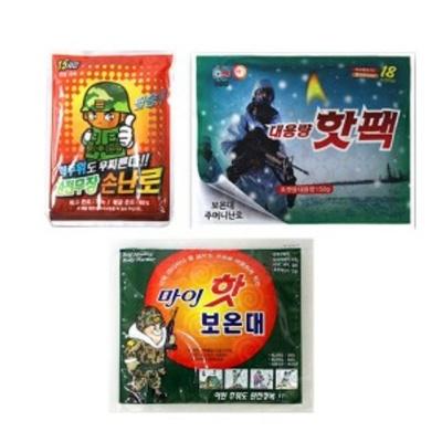 샤인빈 활성탄 손난로 핫팩 방한용품 겨울용품