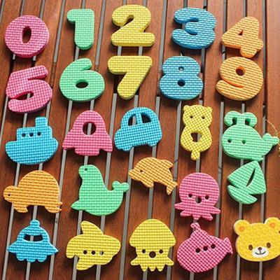 베베포레 물놀이 스티커 목욕놀이 (숫자)