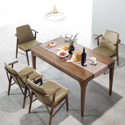 [채우리] 모노 4인 원목 식탁세트(의자)