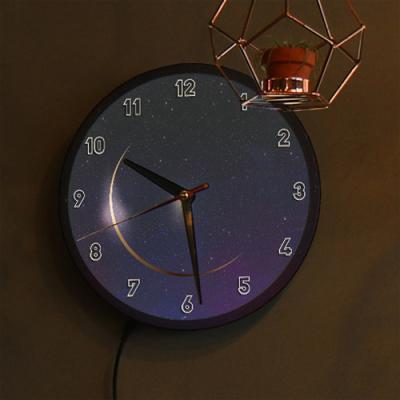 nf199-LED시계액자25R_아름다운밤하늘