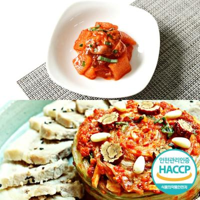 [HACCP] 한옹 꼴깍 400g + 포기김치 1kg