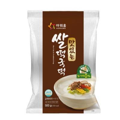[아워홈] 맛있는 쌀떡국떡(500g)