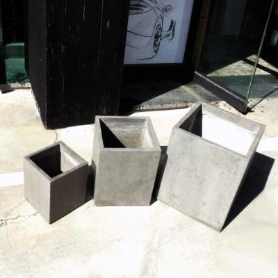 3개셋트.모던 시멘트화분 초대형 긴사각 C3L02 24x2