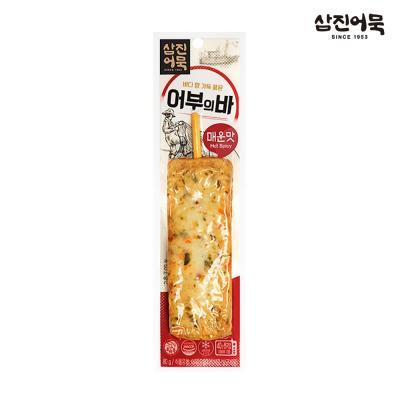 [삼진어묵] 어부의 바 (매운맛 4개+오징어맛 8개)
