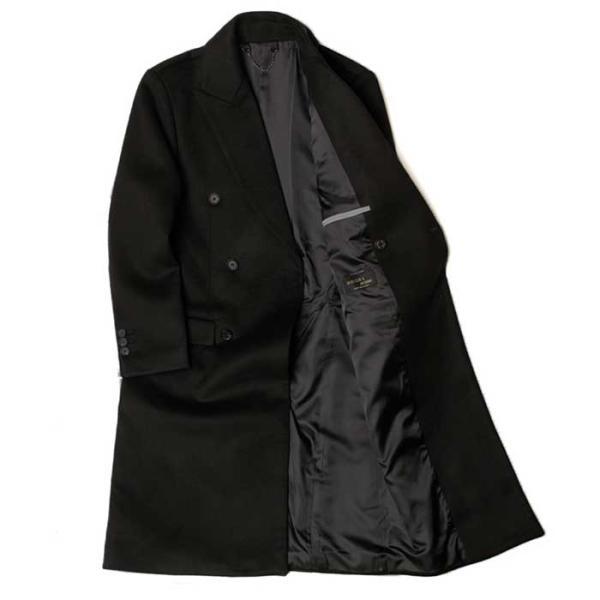 MAN winter 블랙 DOBLE 울 long coat CH1672179