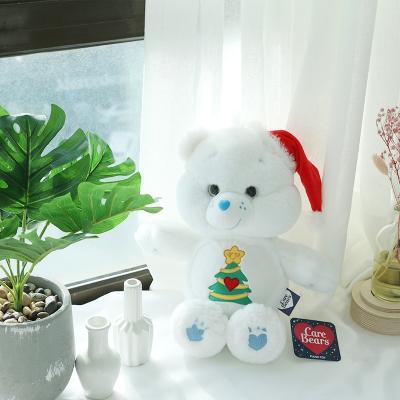 크리스마스 화이트 곰돌이 케어베어 인형 중형 25cm
