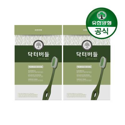 [유한양행]닥터버들 이중미세모 칫솔 6입 2개