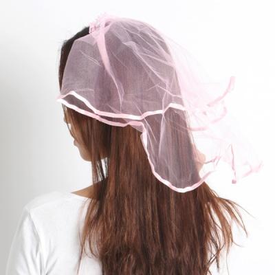 면사포머리띠 [핑크]