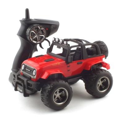 1/18 2WD 오프로드 지프 R/C 레드