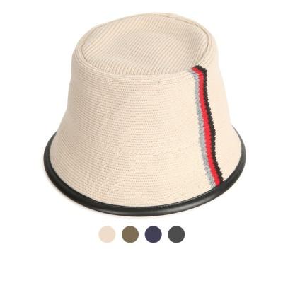 [디꾸보]컬러 배색라인 버킷햇 벙거지 모자 AC682