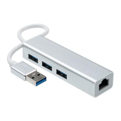기가비트 유선 랜카드 이더넷 / 멀티 USB허브 LCTB357