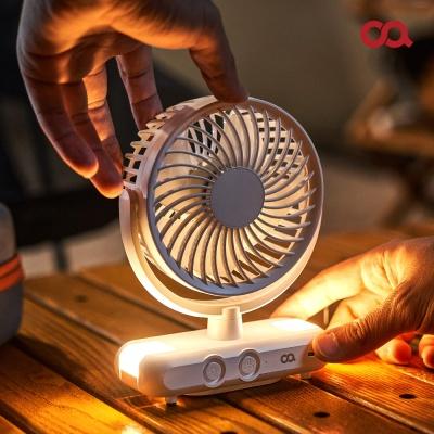 오아 LED 무드캠퍼팬 무선 선풍기