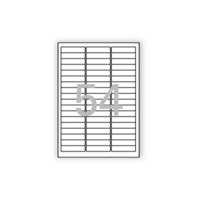 분류표기용 라벨(LQ 3154 20매 54칸 폼텍)