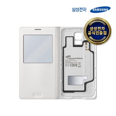 삼성 갤럭시 S5 무선충전 S뷰 커버/EP-VG900B