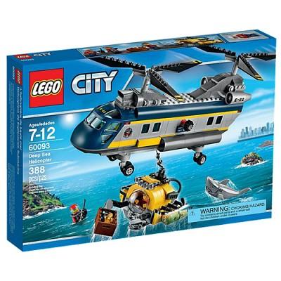 [레고 시티] 60093 언더워터 헬리콥터