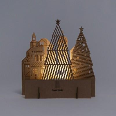 [퍼니피쉬] 크래프트라이츠 - 시티트리 - LED/Candle