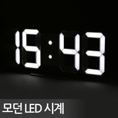 에버클락 3D LED벽시계/인테리어시계/탁상시계/무소음