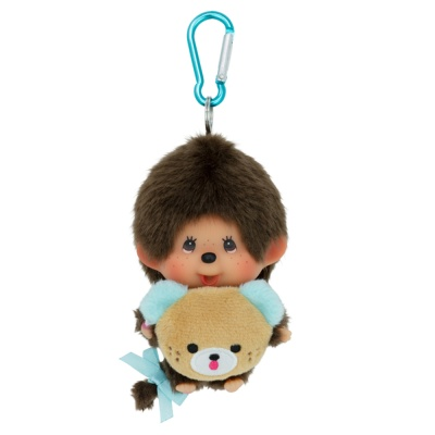 몬치치 45th Anniverssary Happy Trip Monchhichi Big Head SS Boy