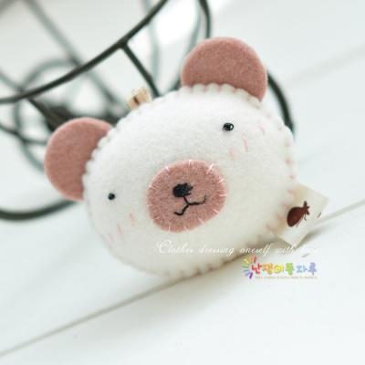 [DIY] 핑크 귀염곰돌이 핸드폰고리 만들기 세트