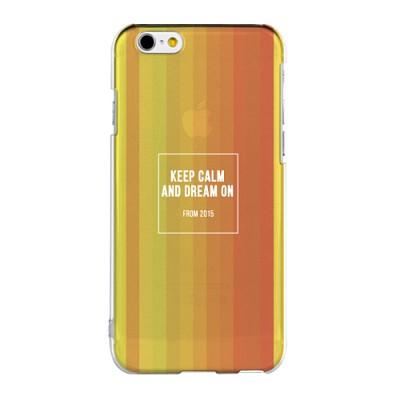 Keep Calm And Dream On 아이폰 투명 젤리 케이스